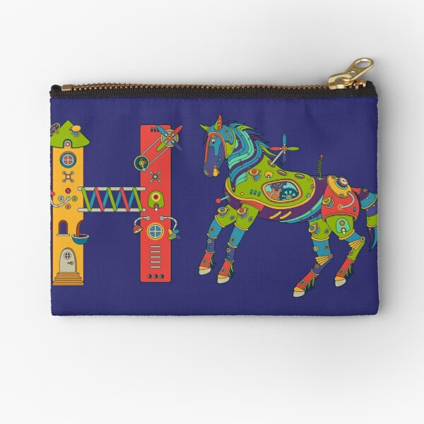 H for House, from the AlphaPod collection Zipper Pouch