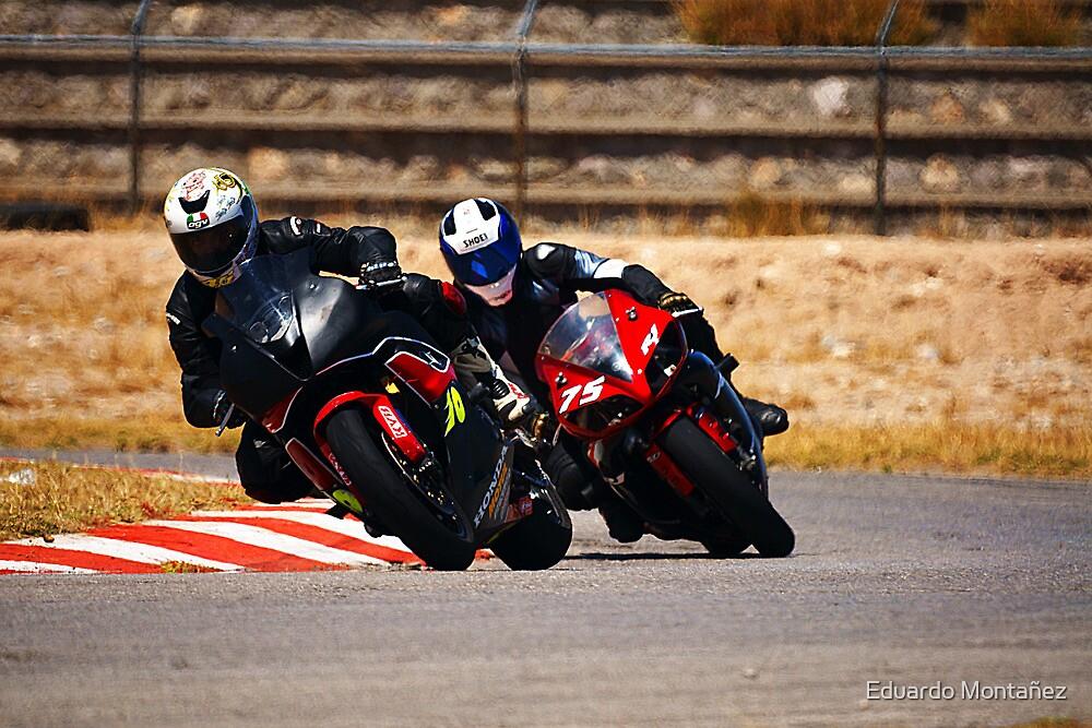 Superbike race by Eduardo Montañez