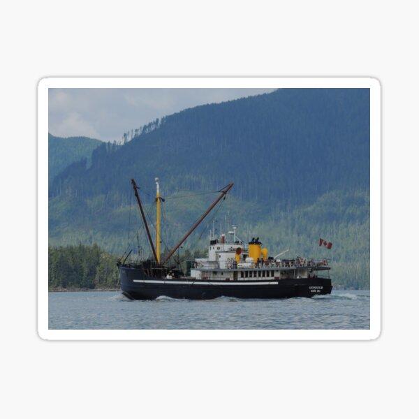 #2 Uchuck III - Tahsis Inlet, Nootka Sound, BC Sticker