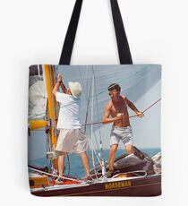 Busy Foredeck Tote Bag