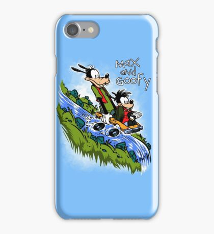 Max and Goofy iPhone Case/Skin