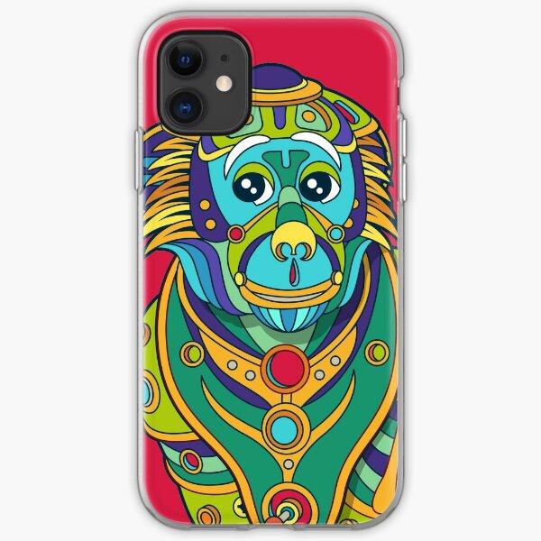 Vervet Monkey iPhone Soft Case
