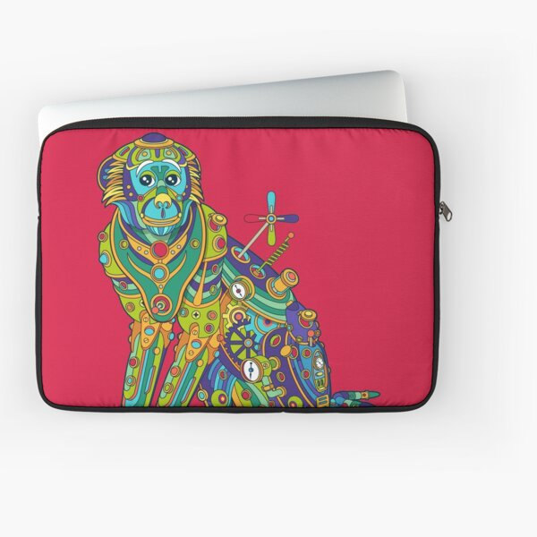 Vervet Monkey Laptop Sleeve