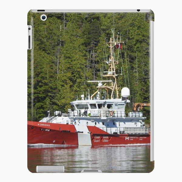 CCGS M. CHARLES M.B - Tahsis, Nootka Sound, BC iPad Snap Case