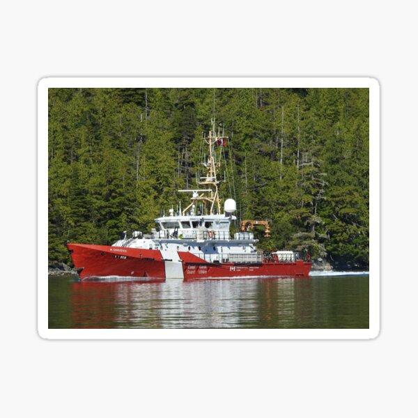 CCGS M. CHARLES M.B - Tahsis, Nootka Sound, BC Sticker
