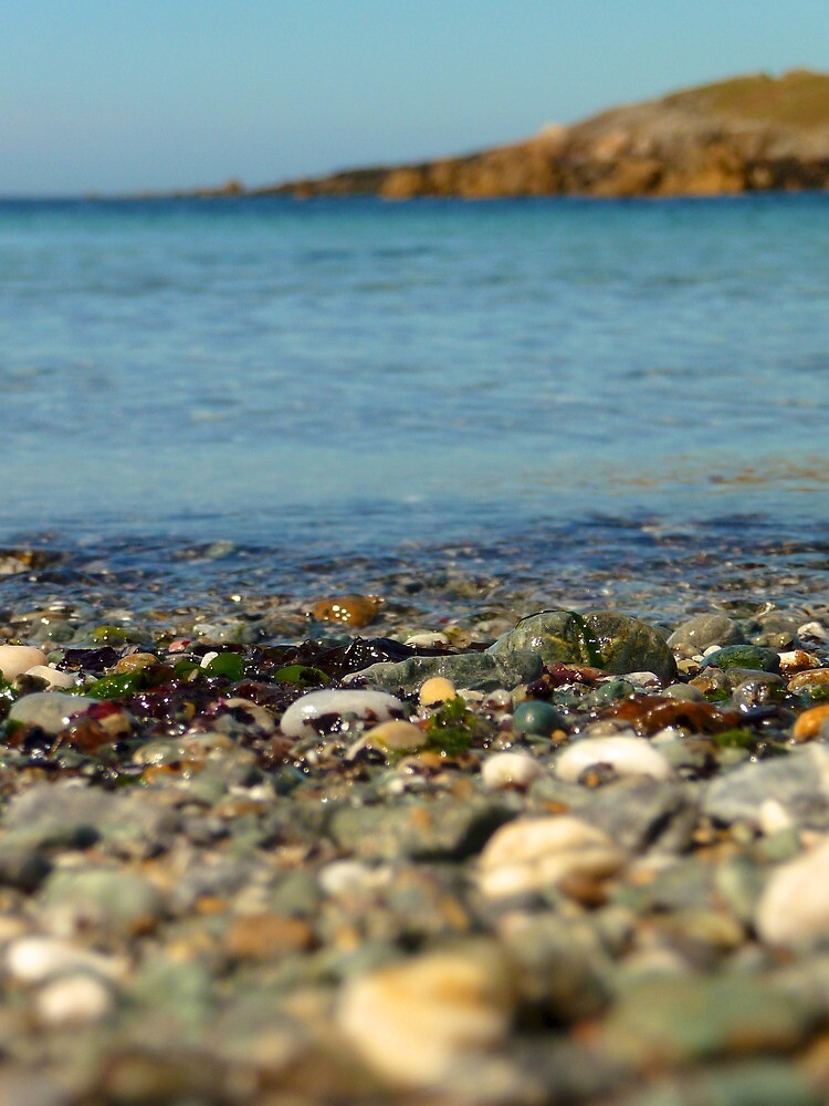 Beach stones | Bardsey Island, Wales, UK by rubbish-art