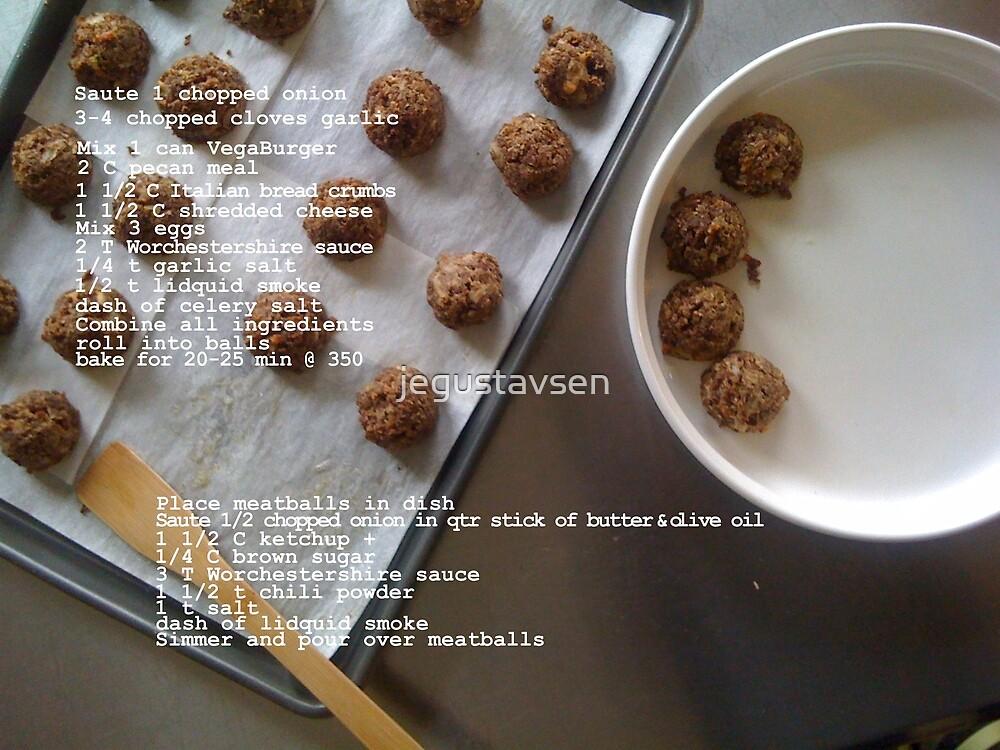 Vegetarian Meatballs by jegustavsen
