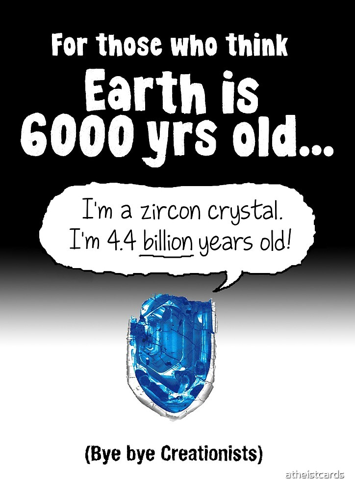 Rock Solid Proof Against Creationism by atheistcards