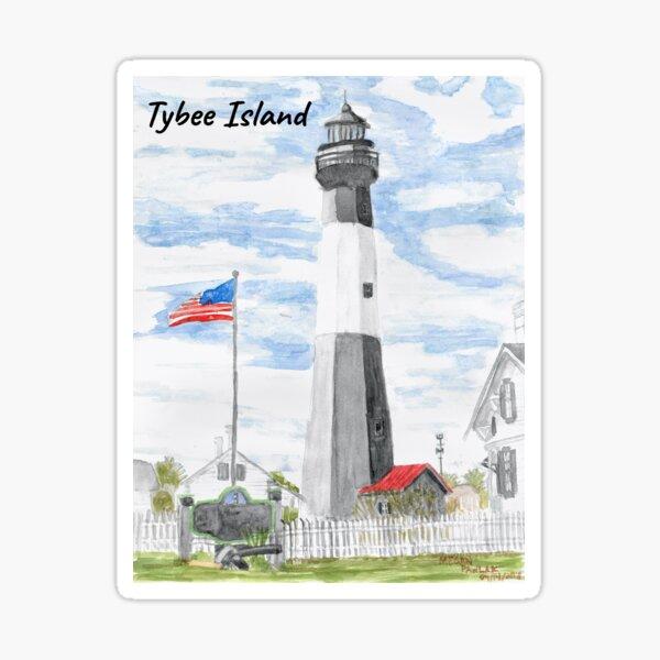 Tybee Island Lighthouse Sticker