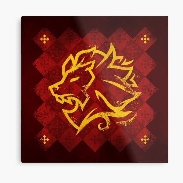 House Lannister - Game of Thrones Metal Print
