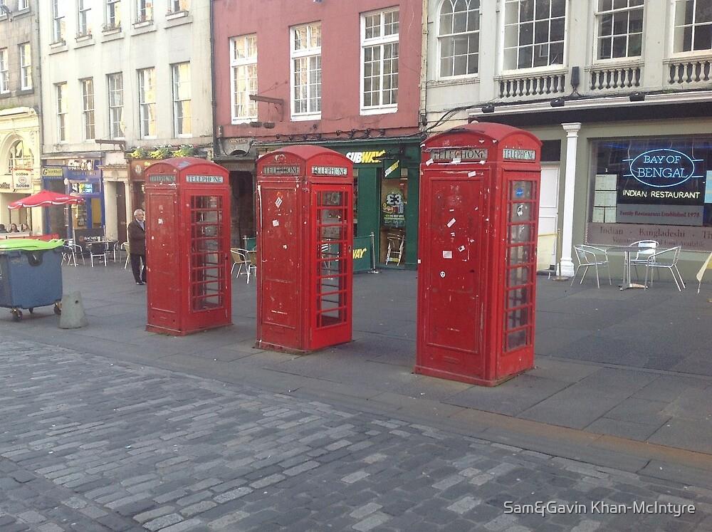 Phone Boxes by Sam&Gavin Khan-McIntyre