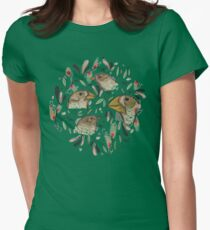 FINE FINCHES Women's Fitted T-Shirt