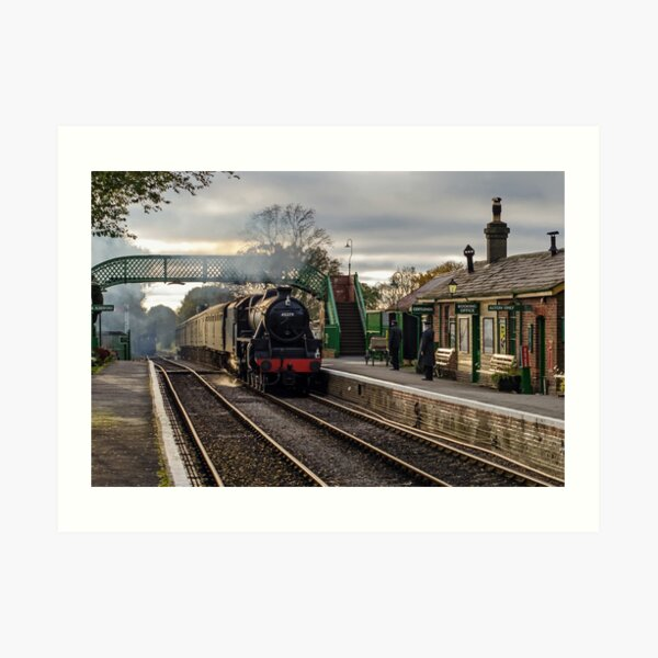 The Watercress Line Art Print