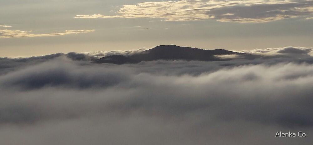 a sea of clouds by Alenka Co