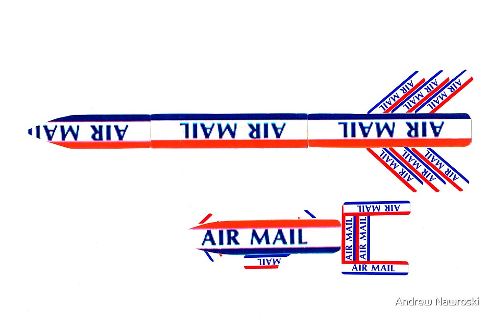 Life of a Brick - Air Mail. by Andrew Nawroski