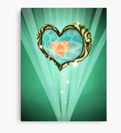 Heart Container Canvas Print