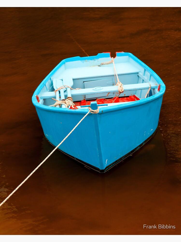 Blue Boat  2012 by organicman2