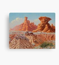 Fossil Land Canvas Print