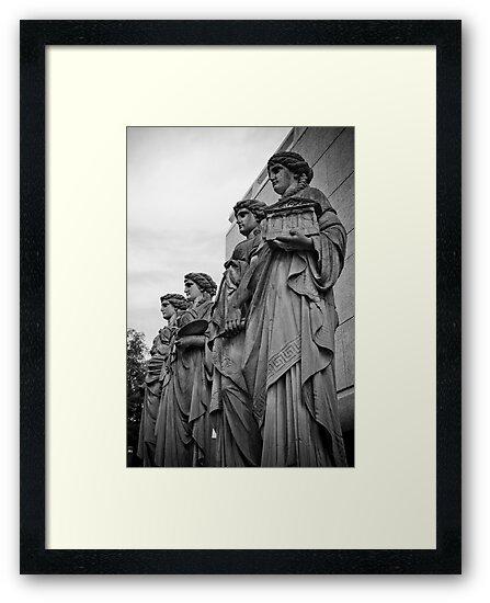 Statues of Dusseldorf by Toren Lehrmann