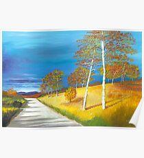 Autumn near Loch Muick Poster