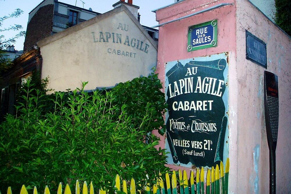 Lapin Agile Cabaret | Paris, France by rubbish-art
