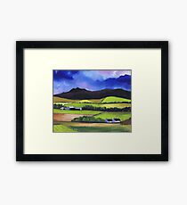 Bennachie near Old Meldrum Framed Print