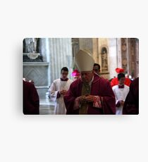 The Pope Canvas Print