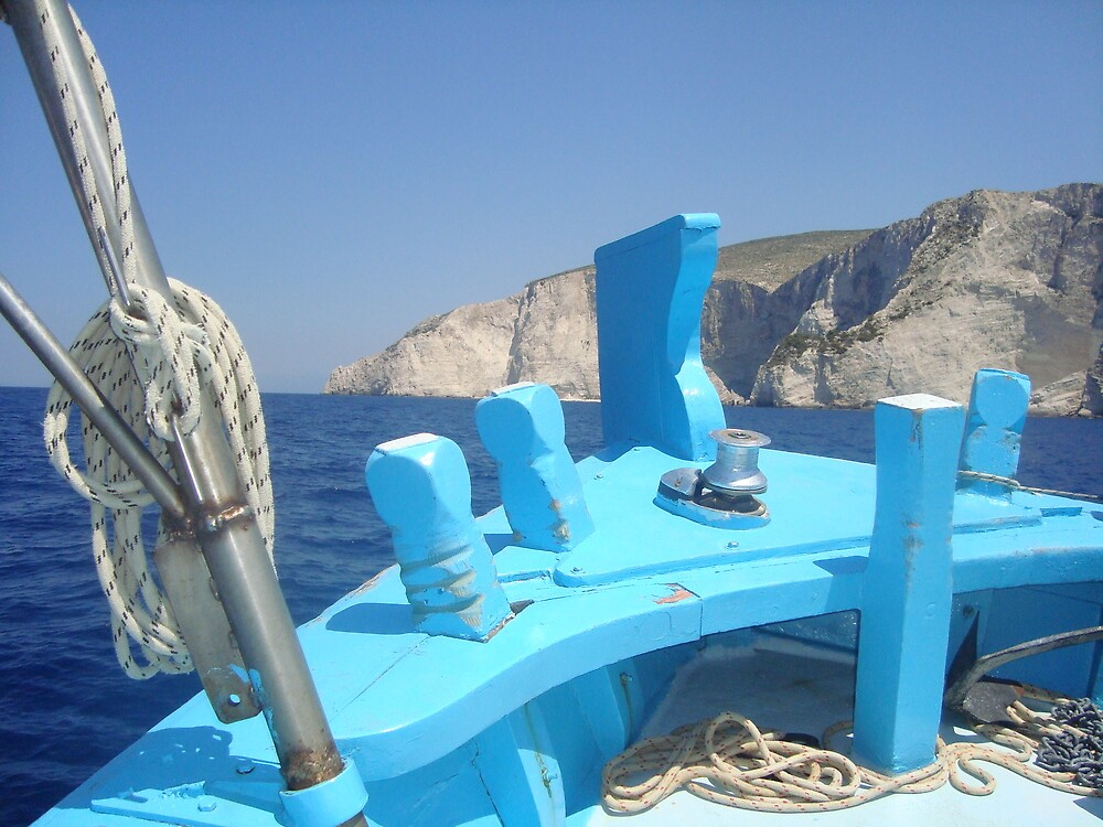 the blue boat by solegga68