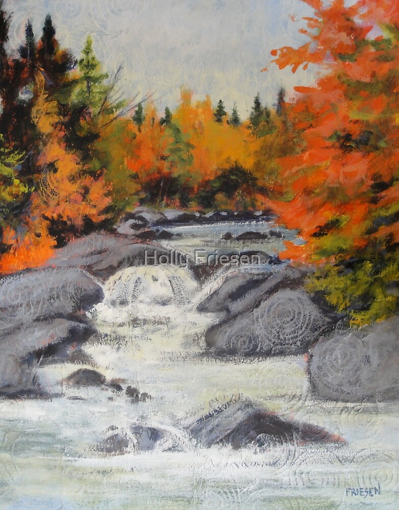Tumbling Water by Holly Friesen