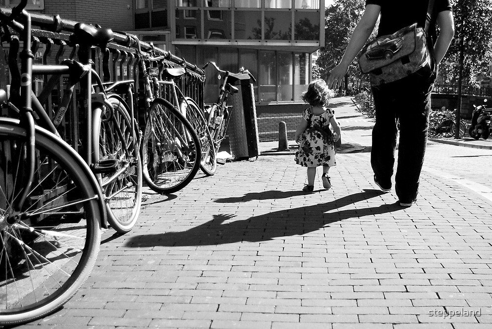 Walk safely, little one... by steppeland