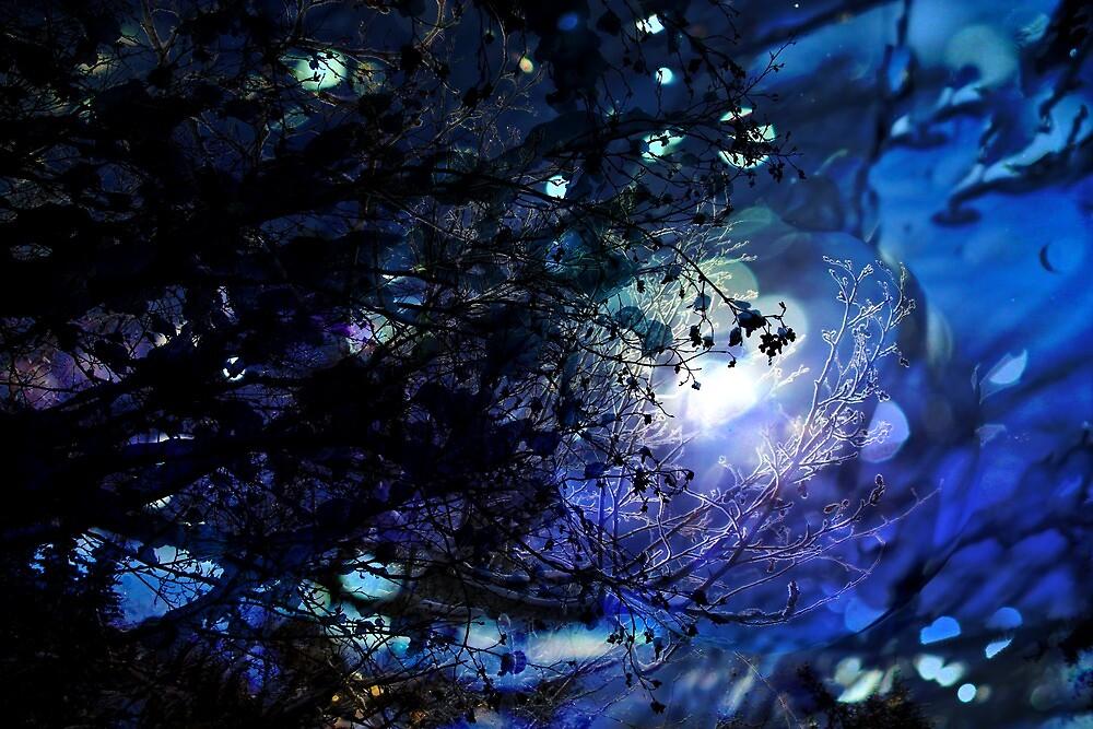 Blue Glow by mcornelius