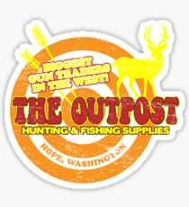 the Outpost Sticker