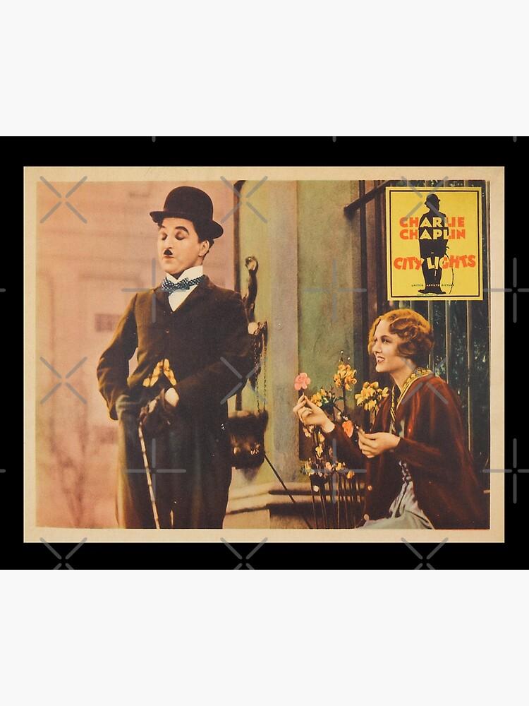 Charlie Chaplin - City Lights - 1931 Poster Print. by TMcG-Prints