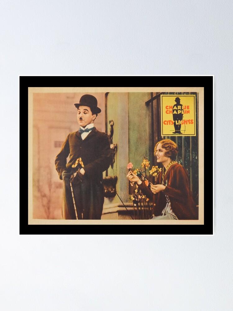 Alternate view of Charlie Chaplin - City Lights - 1931 Poster Print. Poster
