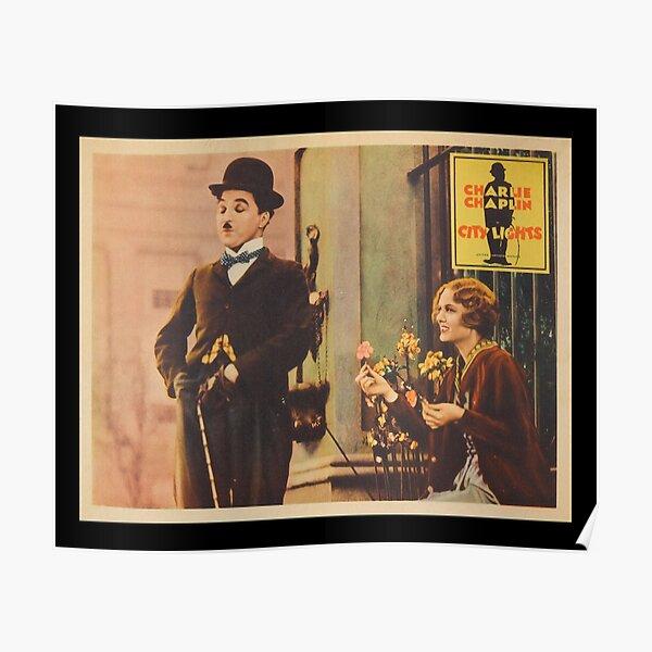 Charlie Chaplin - City Lights - 1931 Poster Print. Poster