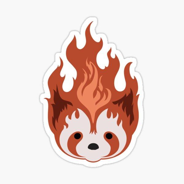 Legend of Korra: Fire Ferrets Pro Bending Emblem - no text Sticker