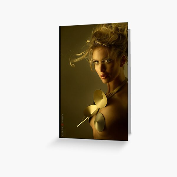 Postcard - Music of the Wind (portrait) Greeting Card