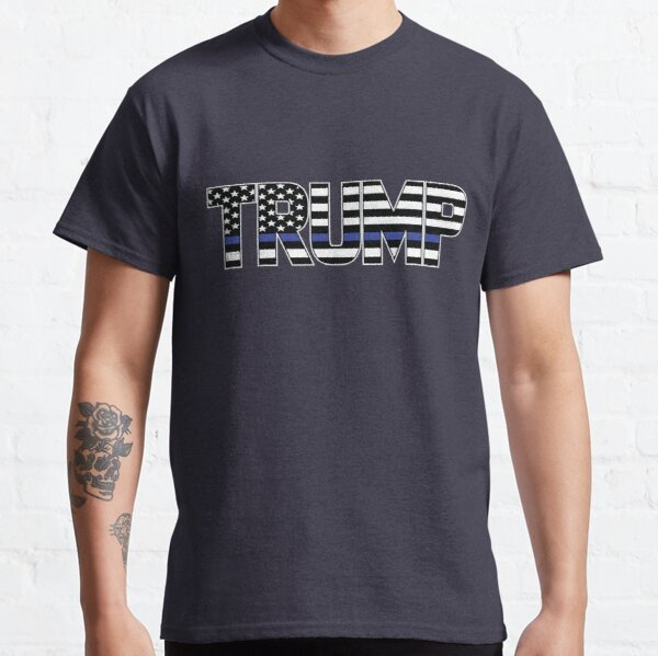 Thin Blue Line TRUMP Classic T-Shirt