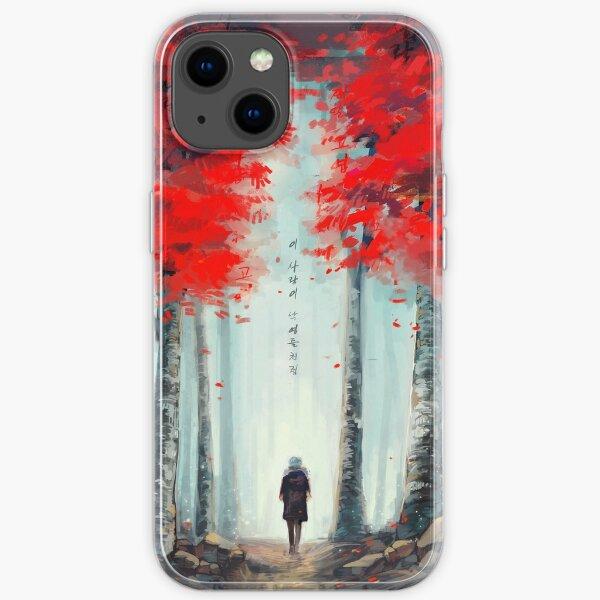 화양연화 - Dead Leaves iPhone Soft Case