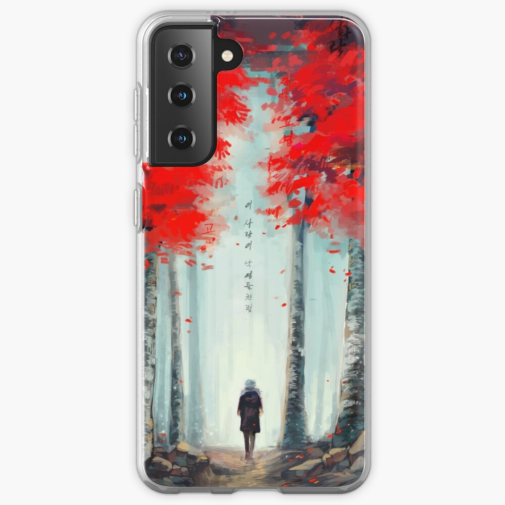화양연화 - Dead Leaves Case & Skin for Samsung Galaxy