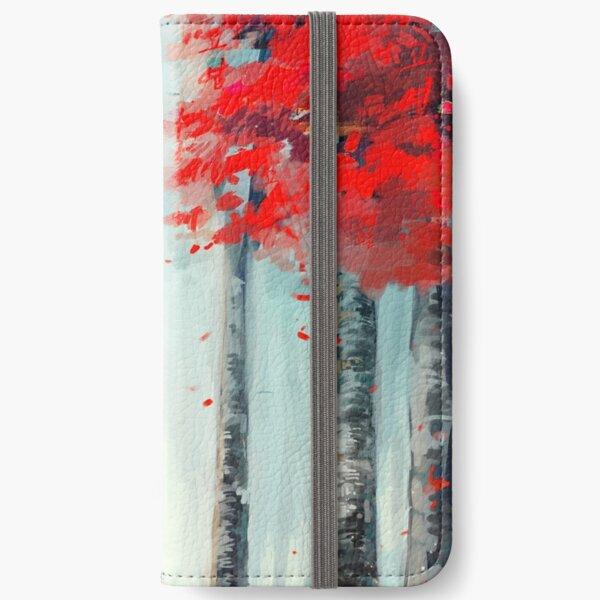 화양연화 - Dead Leaves iPhone Wallet