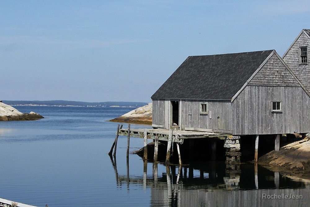Seaside Shack - Peggy's Cove NS, Canada by RochelleJean