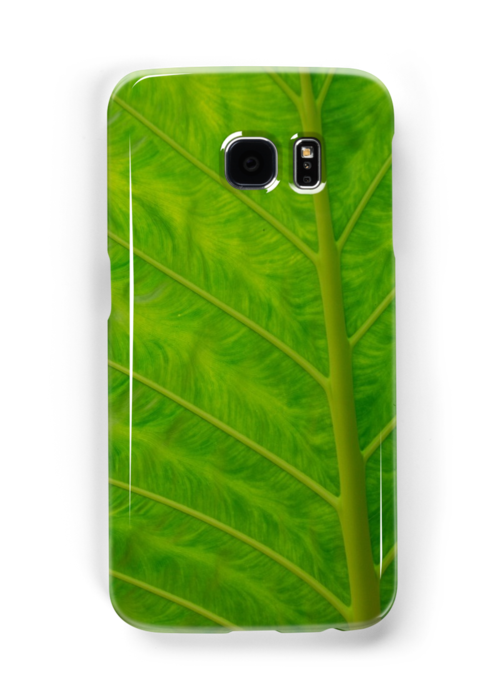 green iphone/samsung galaxy cover by mellychan