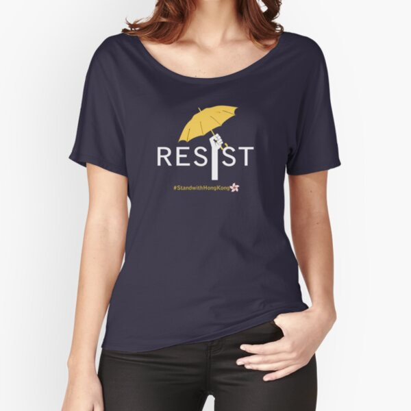 Free Hong Kong, Support HK Peaceful Protects, Resist! - Original Design Relaxed Fit T-Shirt