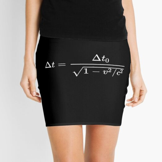 Time dilation is a difference in the elapsed time measured by two clocks Mini Skirt