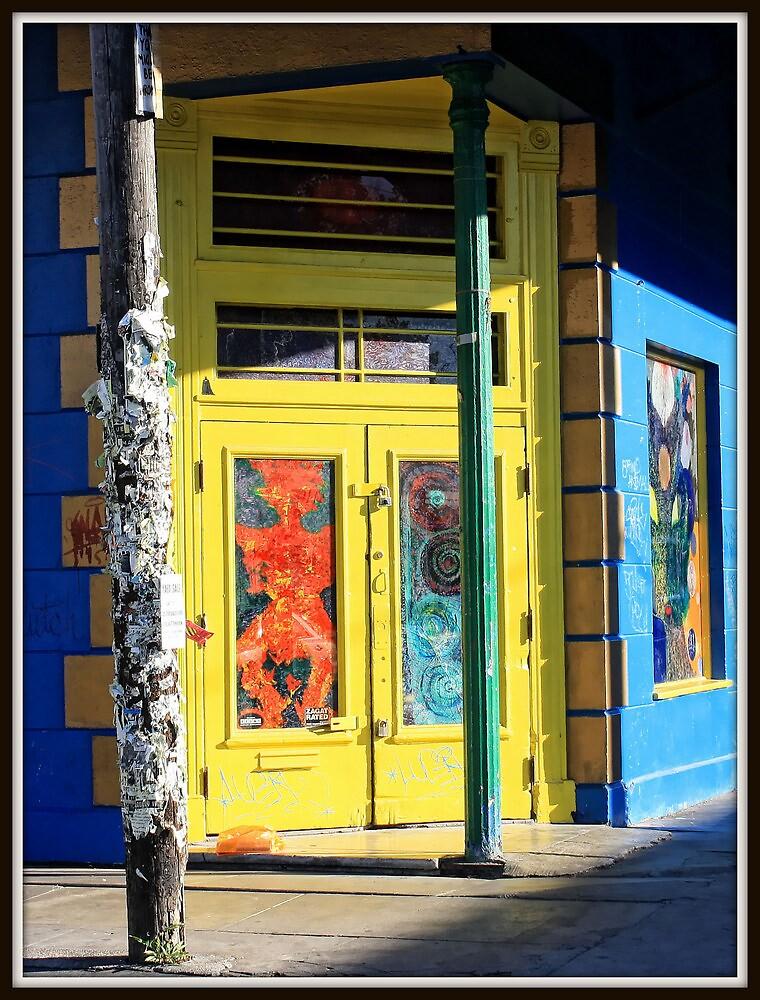 Yellow Door by Mikell Herrick