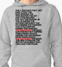 The Plays Pullover Hoodie