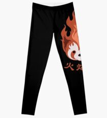 Legend of Korra: Fire Ferrets Pro Bending Emblem Leggings