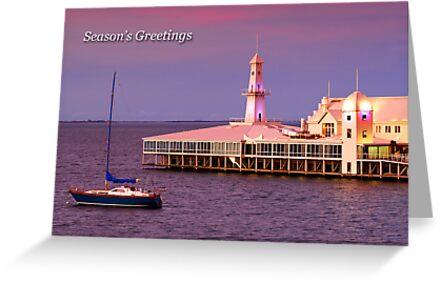 Cunningham Pier at Geelong by Darren Stones