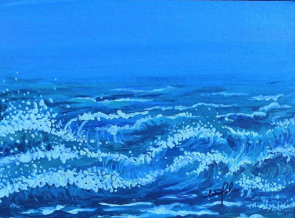 Sea breeze by Ioana